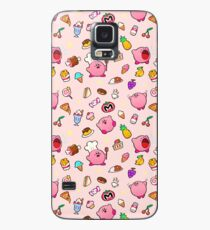 Kirby x Food Pattern Case/Skin for Samsung Galaxy