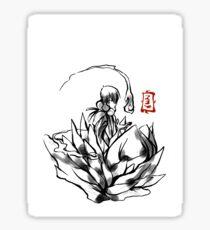 Tama in Ink Sticker
