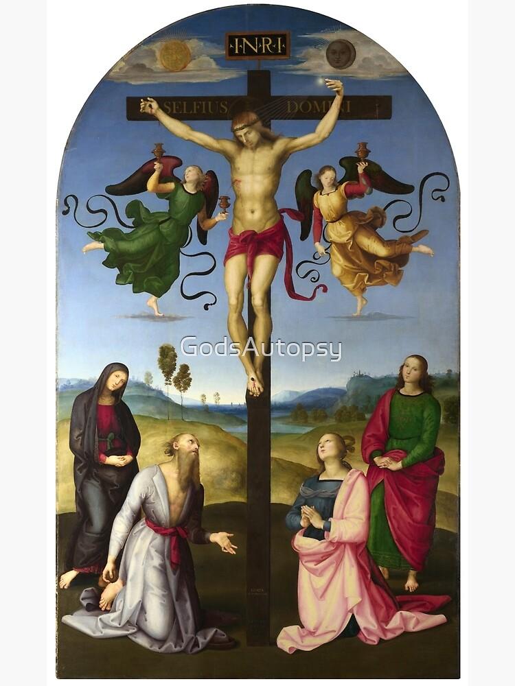 Selfius Domini - Crocefissione Raffaello by GodsAutopsy