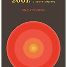 2001: A Space Odyssey - Stanley Kubrick  by Robert Cook