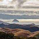 View of Morro Rock  by Buckwhite