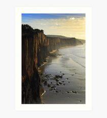 Cliff Walk Art Print