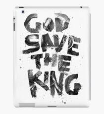 God Save the King iPad Case/Skin