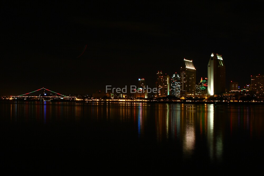 San Diego Christmas Nights by Fred Barber