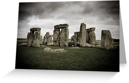 Stonehenge, UK. by Luka Skracic