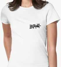 Logang Women's Fitted T-Shirt