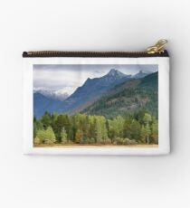 Riparian Forest and Cabinet Mountains Wilderness, Montana Studio Pouch