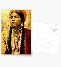 Lakota Maiden  Postcards