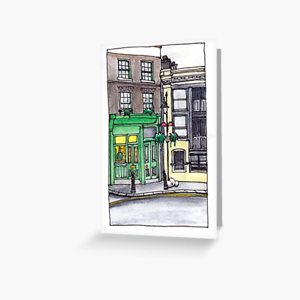London - Shopfront near Borough Market Greeting Card