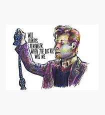 When the doctor was me Photographic Print