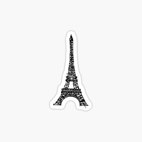 little eiffel tower Sticker