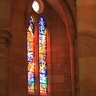 St Stephens stainglass wndow by David  Geerlings