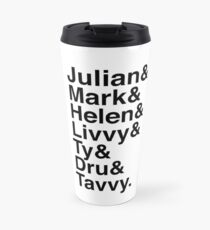 Julian & Mark & Helen & Livvy & Ty & Dru & Tavvy: The Dark Artifices Travel Mug
