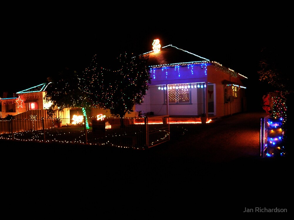 Christmas Lights - Grenfell Style by Jan Richardson