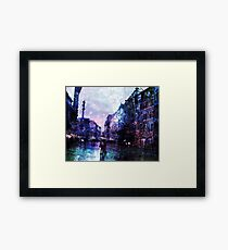 Luminescence, Digital Artwork Framed Print