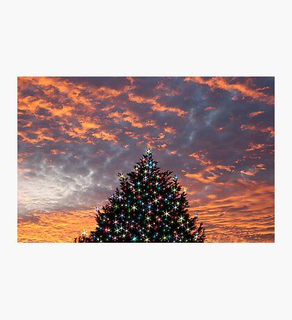 Christmas Sky Photographic Print