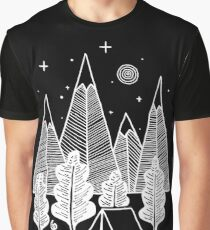 Camp Line Graphic T-Shirt