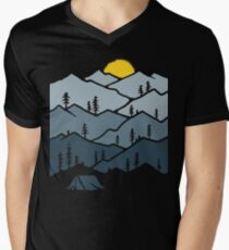 Camping V-Neck T-Shirt