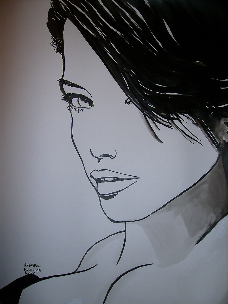 beautiful woman by mamax