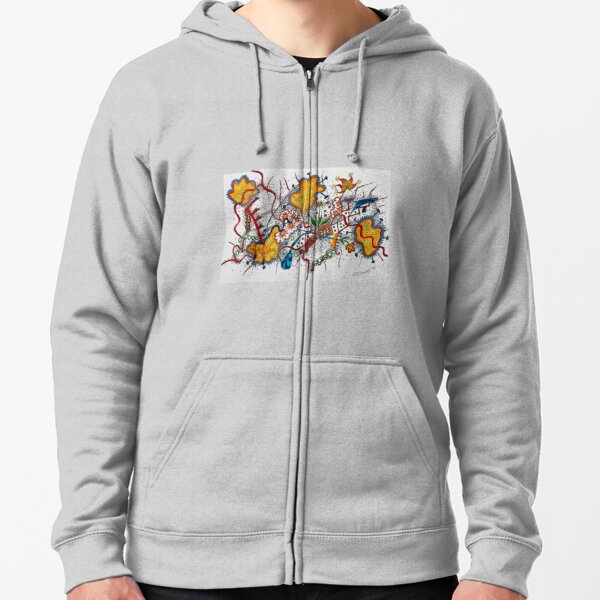 It's Complicated  Zipped Hoodie