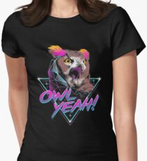 Owl Yeah! Women's Fitted T-Shirt
