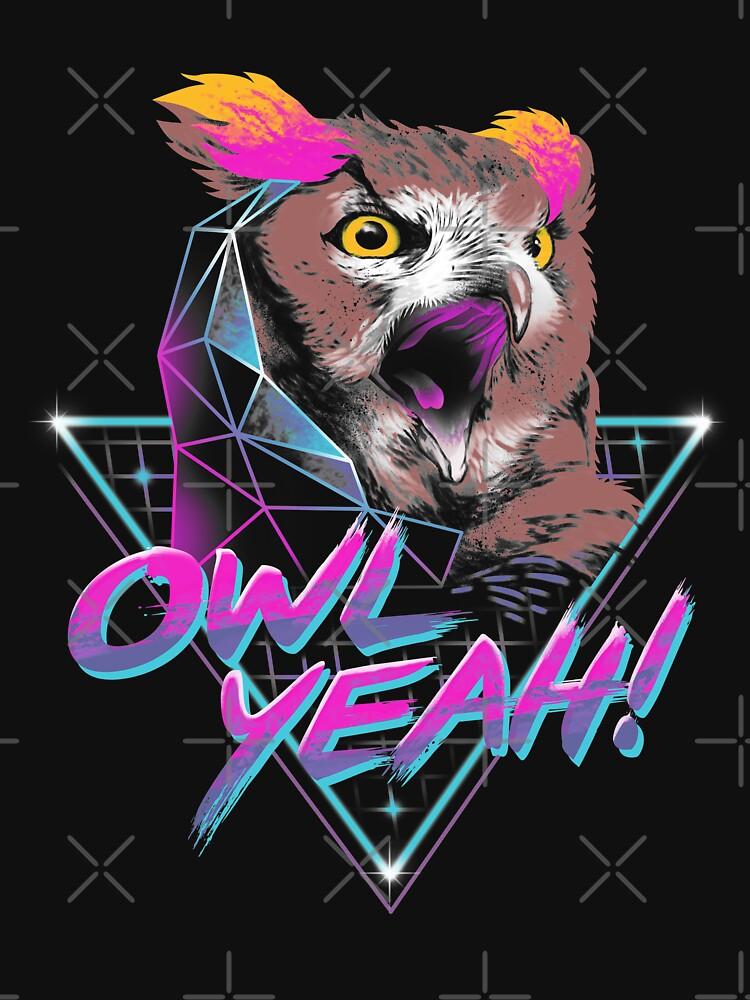 Owl Yeah! by vincenttrinidad