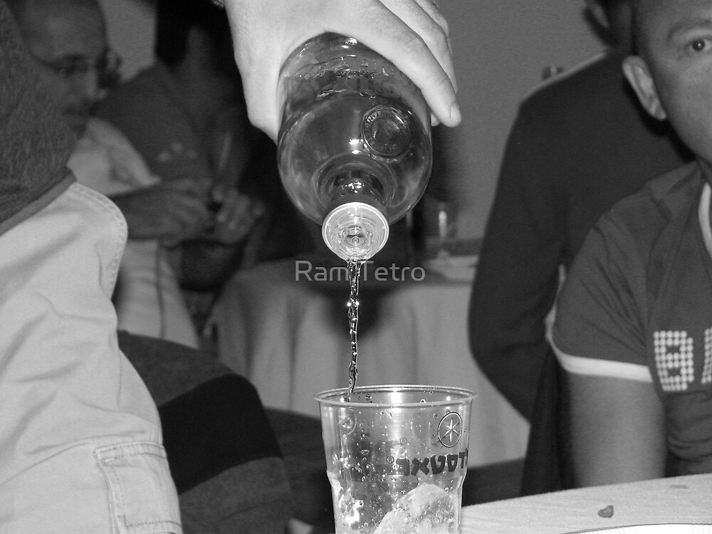 Vodka is worming. by Ram Tetro