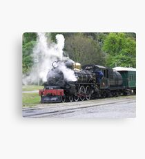 All Steamed Up - Kingston Flyer, NZ Canvas Print