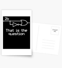 To Be Or Not To Be Electrical Engineer Circuit Postcards