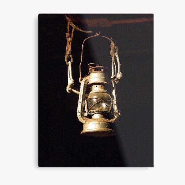 Lantern and bridle Metal Print