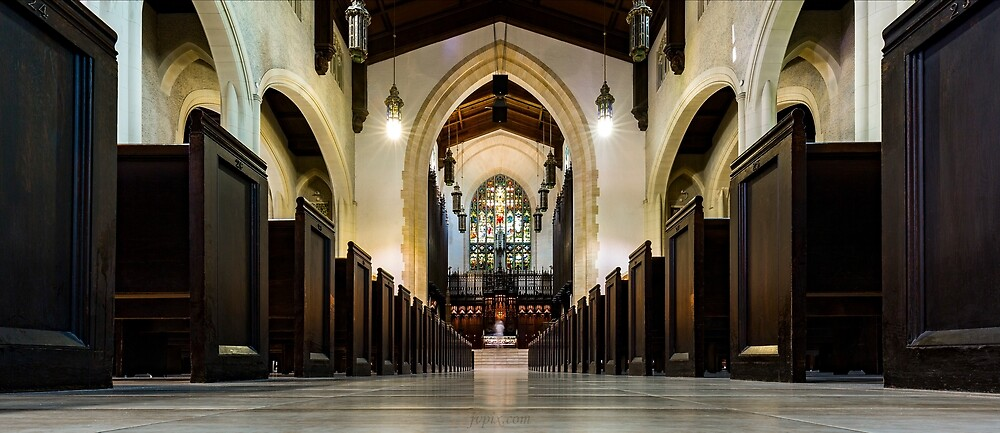 Metropolitan United Church 2 by John Velocci