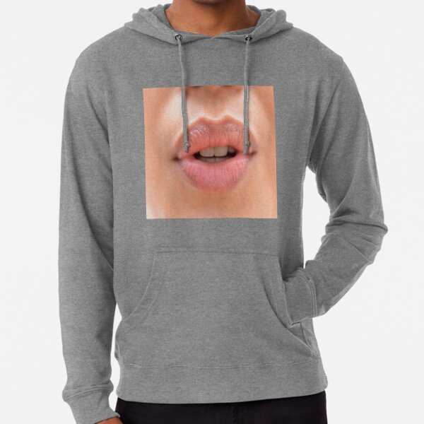 Mouth, os, jaws, gob, trap, kisser Lightweight Hoodie