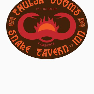 Thulsa Doom's Snake Tavern Inn by superiorgraphix