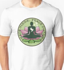 Peace Inside, Peace Outside Unisex T-Shirt