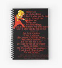 Awful hell bart Spiral Notebook