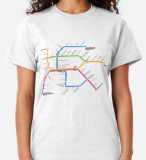 NUMTOT Network Map Classic T-Shirt