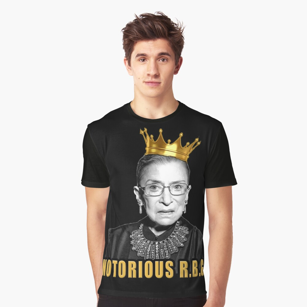 The Notorious Ruth Bader Ginsburg (RBG) Graphic T-Shirt Front