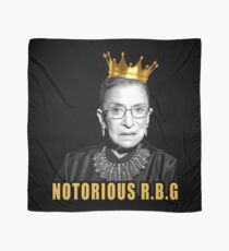 The Notorious Ruth Bader Ginsburg (RBG) Scarf