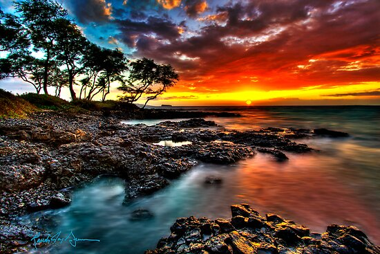 Maluaka Glow, Makena Maui by Randy Jay Braun