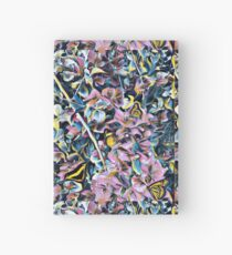 Lavender butterfly garden Hardcover Journal