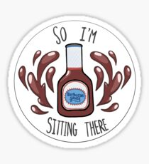 So I'm Sitting There..... Sticker