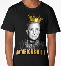 The Notorious Ruth Bader Ginsburg (RBG) Long T-Shirt
