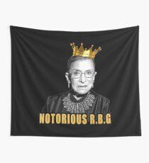 Die berüchtigte Ruth Bader Ginsburg (RBG) Wandbehang