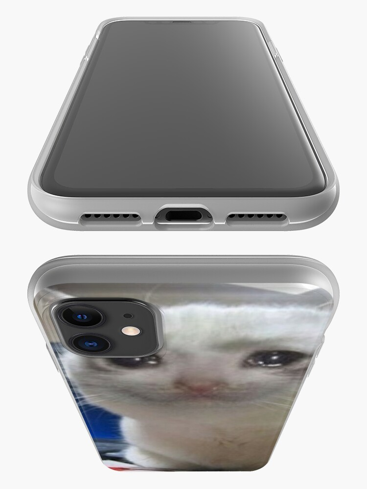 """""""Crying cat meme"""" iPhone Case & Cover by Carou 