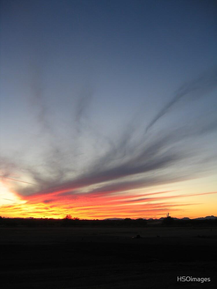 Desert Sunset by HSOimages