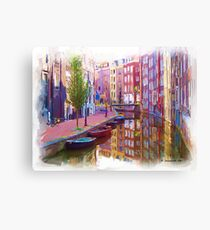 Canal Street Canvas Print