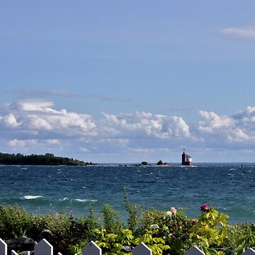 View from Mackinac Island by photolodico