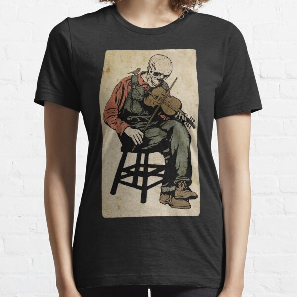 The Death Fiddler And His Sparrow Companion Essential T-Shirt
