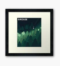 Grouse Framed Print