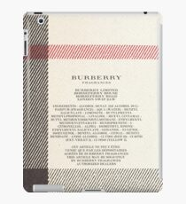 Burberry Limited iPad Case/Skin